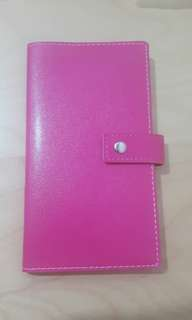 Hot pink planner
