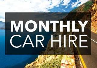 Monthly Car Rental - Special Discount Promotion