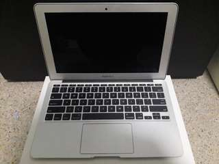 Macbook Air 11inch(mid-2012)i5 1.7Ghz