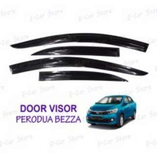 Perodua Bezza Door Visor (4 Pcs Door)