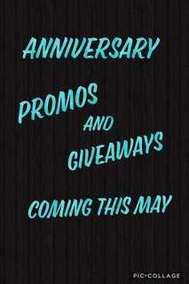 Anniversary Promos and Giveaways