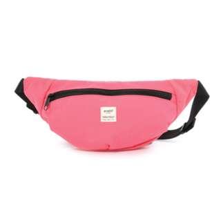 AT-B2021 [Anello] Pink SPLASH Waist Mini Bag  100% GENUINE !