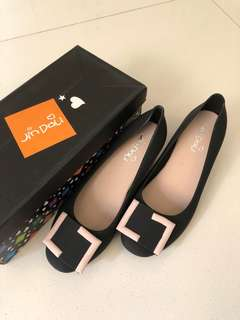 Comfy Jelly Shoes - Black