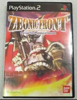 PlayStation 2  game 機動戰士 Zeonic Front  遊戲 #sellmygadget