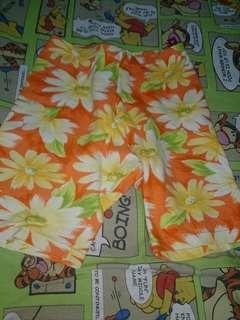 Sunflower Shorts for Girls for Only P90