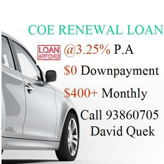 MAY 5 YRS Coe Renewal Monthly @$400+ x 48 Months