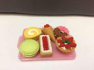 Daiso - Dessert Eraser collection