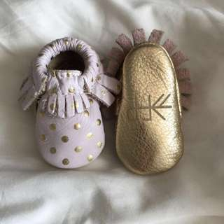 Freshly Picked moccasins - Size 0 / Newborn