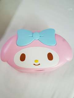 My Melody wet wipes box from Japan