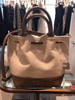 Agnes B bucket bag