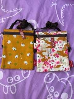 全新側揹小袋子 (購自日本,共兩個,包平郵)