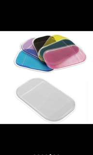 Anti slip/sticky mats for car