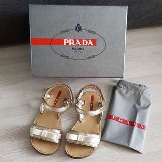 Authentic Prada shoes girl