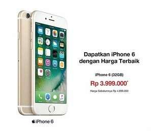 Kredit iPhone 6 32Gb Dengan Harga Terbaik