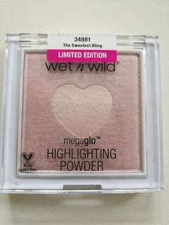 wet n wild megaglo highlighting powder ( the sweetest bling)