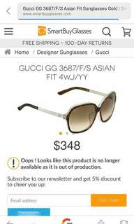 SUnglasses gucci auth