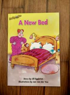Reading Bee Storybook <A New Bed>