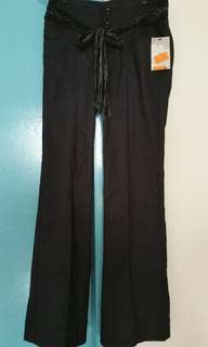 Brand New Ladies Long Black Pants