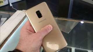 Samsung Galaxy A8+ 2018 Gold Cicilan Tanpa CC dan Cash