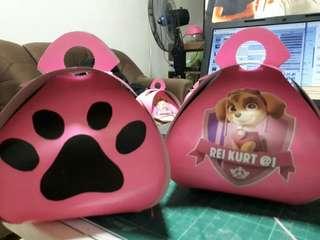 Paw patrol curvy bag for souvenir/ giveaway