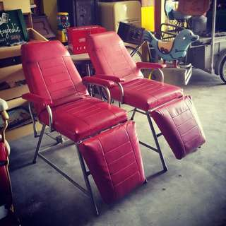 Vintage Saloon Chairs