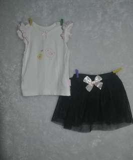 Tutu and blouse set