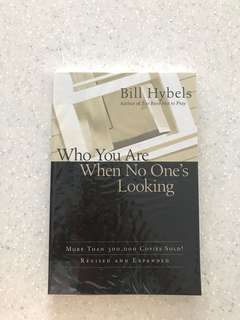 Who are you when no one is looking