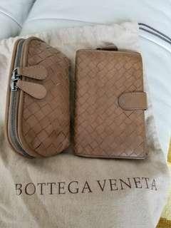 Bottega Veneta wallet ang coint purse