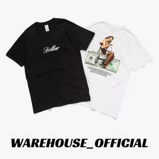 Print Tee Shirt 【 WAREHOUSE_OFFICIAL 】