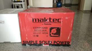 Maktec Makita compound saw 10 inch