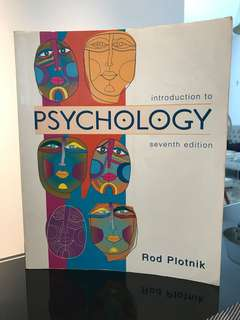 Introduction to Psychology (seventh edition)