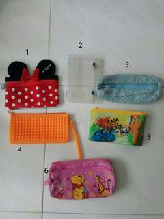 Assorted Pencil Cases