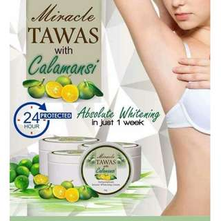 MIRACLE TAWAS WITH CALAMANSI CREAM with spf80