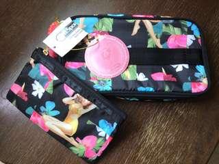accessories lesportsac cosmetic case genuine