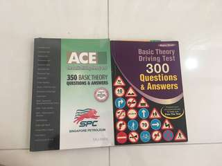 BTT Books (Basic Theory Driving Test)