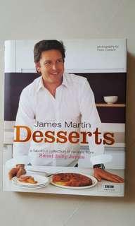 Recipe book - James Martin Desserts