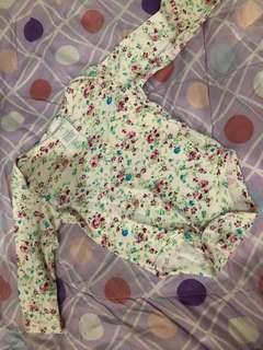 Floral onesies
