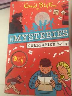 The mysteries collection volume 2 and 3 by Enid Blyton