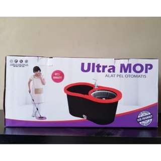 Ultra mop alat pel lantai otomatis termurah supermop m169x+