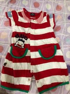Red baby onesies