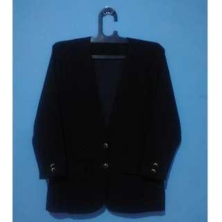 Blazer Kantor Wanita - Hitam 1 (XL)