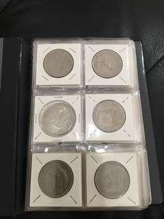 Malaysian Ringgit coin