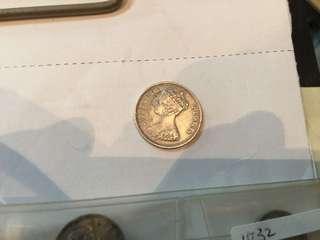 香港維多利亞10仙1901