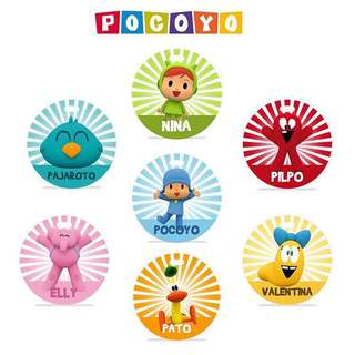 CUSTOM BAG TAG - pocoyo