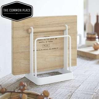 INSTOCK Wooden Chopping Cutting Board Holder Kitchen Storage Organizer Cooking Tool