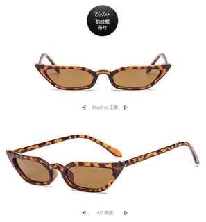 🚚 歐美復古貓眼流行太陽眼鏡