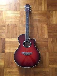 Yamaha Red Guitar