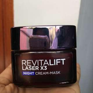 L'OREAL Dermo Expertise Revilatift Laser X3 night cream-mask 50ml