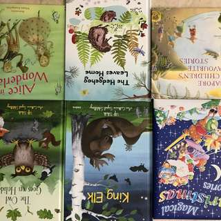 Almost new story books