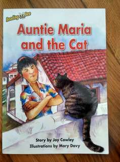 Reading Bee Storybook <Auntie Maria and the Cat>